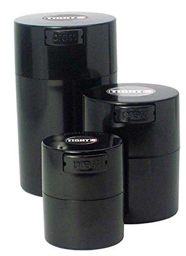 Tightpac America Tightvac with Box Black Caps/Black Bodies, Pack of 3