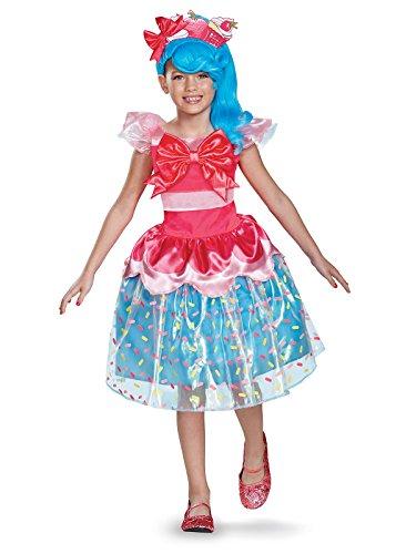 Jessicake Deluxe Shoppies Costume, Pink/Blue, Medium (7-8)
