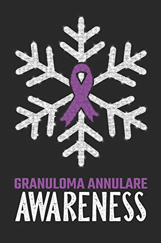Granuloma Annulare Awareness: Christmas Snowfall College Ruled Granuloma Annulare Awareness Journal, Diary, Notebook 6 x 9 inches with 100 Pages