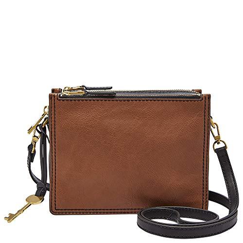 Fossil womens Zb7295200 Cross Body Handbag, Brown, One Size US