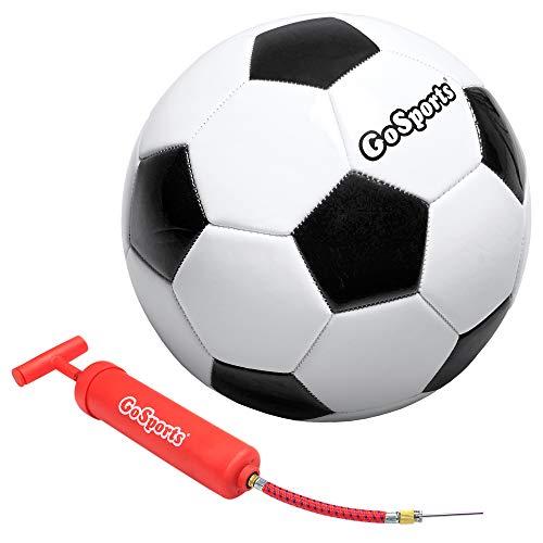 GoSports Classic Soccerball - Size 5 - with Premium Pump