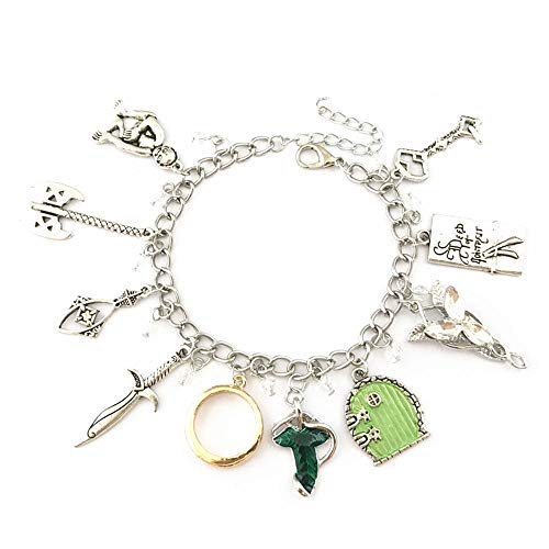 Universe of Fandoms Lord the Ring Arwen Evenstar Charm Bracelet Gifts for Women