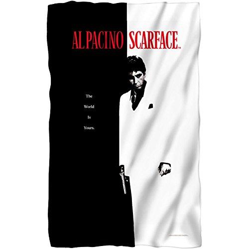 Scarface - Poster Fleece Blanket 35 x 57in