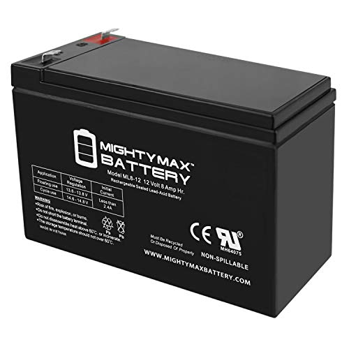 Mighty Max Battery 12V 8AH Replaces Belkin Residential Gateway RG Backup Battery Brand Product