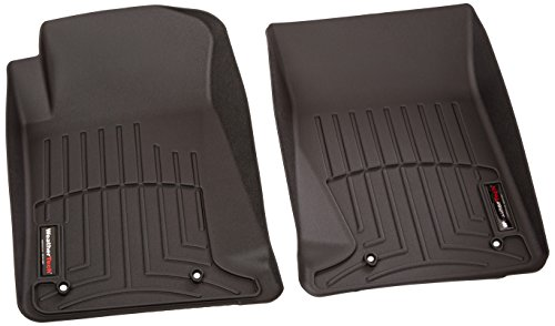 WeatherTech Custom Fit Front FloorLiner for Chevrolet Camaro, Black