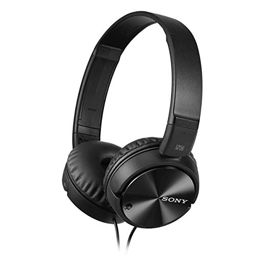 Sony MDRZX110NC Noise Cancelling Headphones, Black