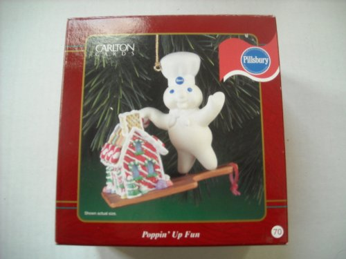 Carlton Pillsbury Doughboy Christmas Ornament Poppin' up Fun