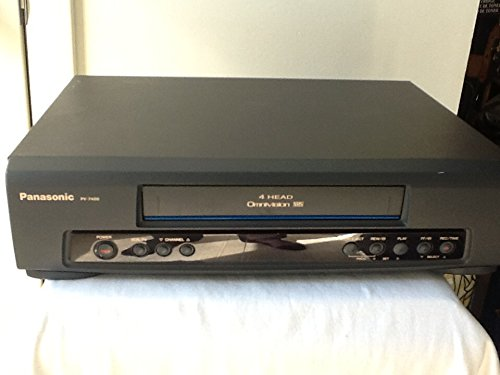 Panasonic PV-7400 VCR Video Cassette Recorder 4-Head Hi-Fi Stereo Omivision VHS Player. . Works Great. Comes with A/V cable for TV connection