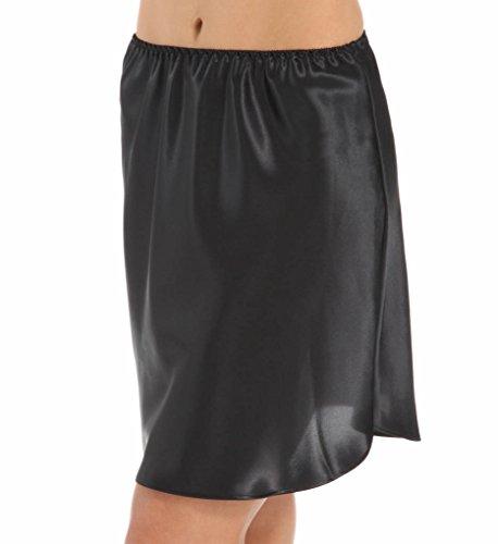 Farr West Essentials Shirt-tail Hem Half Slip Style 152-19 - Black - XLarge