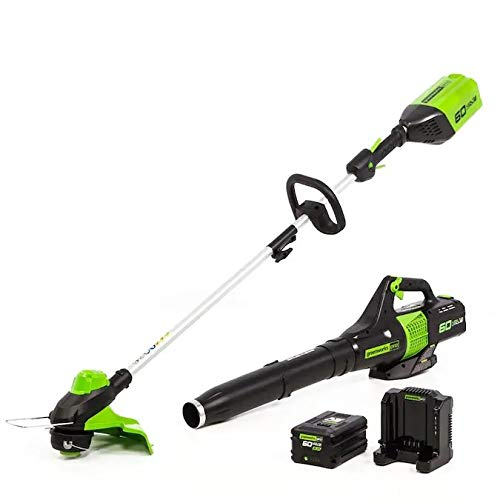 Greenworks Pro 2-Piece 60-Volt Cordless Power Equipment Combo Kit