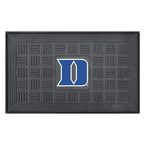 FANMATS NCAA Duke University Blue Devils Vinyl Door Mat