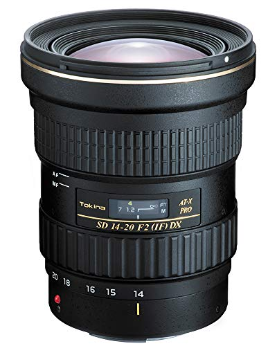 Tokina ATXAF140DXC 14-20mm f/2 Pro DX Lens for Canon EF