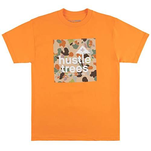 LRG Men's Lifted Research Group Panda Camo Logo T-Shirt, Texas Orange, 2XL