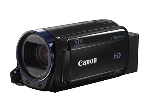 Canon 0278C004-cr VIXIA HF R62 (Discontinued by Manufacturer) Black (Renewed)