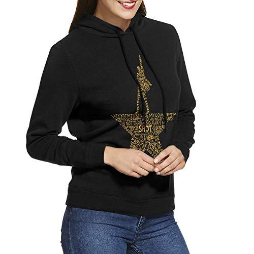 Women's Musicals Hamilton Hoodie Novelty Fashion Sweatshirt Medium