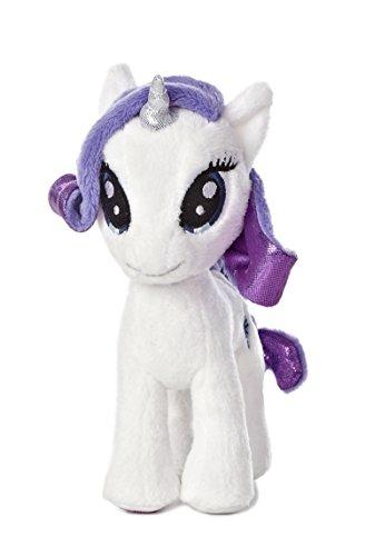 Aurora World My Little Pony Rarity Pony Plush, 6.5'