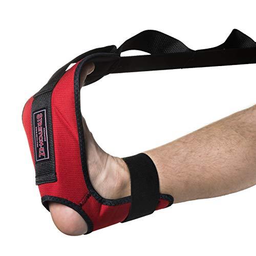 OPTP Stretch-EZ - Foot and Leg Stretcher for Plantar Fasciitis, Heel Spurs, Calf, Thigh and Hip (433)