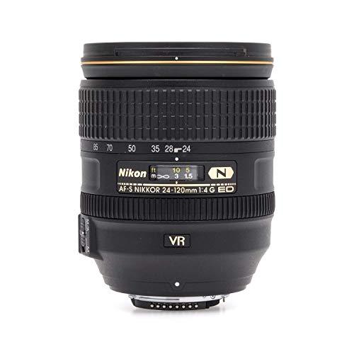 Nikon 2193-IV AF-S fx NIKKOR 24-120mm F/4G ED Vibration Reduction Zoom Lens with Auto Focus for DSLR Cameras International Version (No Warranty)