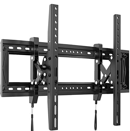 Advanced Full Tilt Extension TV Wall Mount Bracket for Most 50-90 Inch OLED LCD LED Curved Flat TVs-Extends for Max Tilting On Large TVs, fits 16-24 Inch Studs, Max 165 LBS VESA 600x400mm by Pipishell