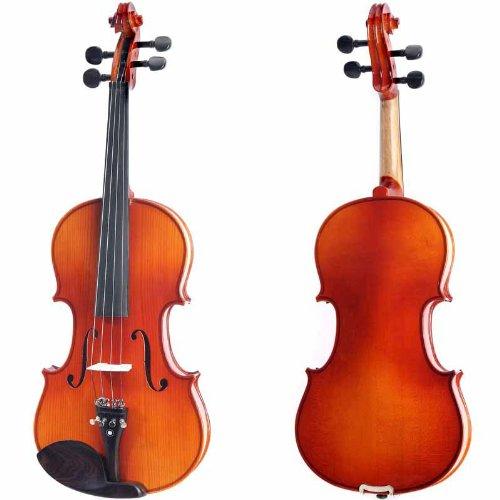 Cecilio 1/4 CVN-300 Ebony Fitted Solid Wood Violin