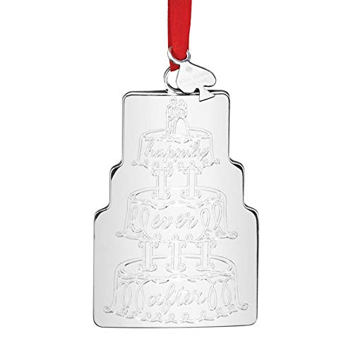 Kate Spade New York Darling Point Our First Christmas Cake Ornament
