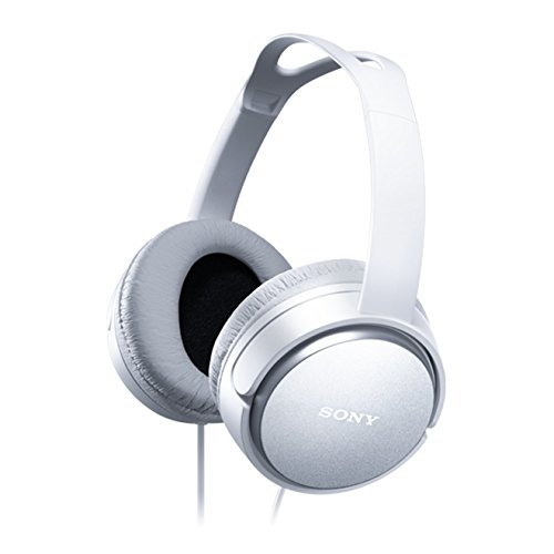 Sony MDRXD150 Home Closed Back Overhead Headphones - White