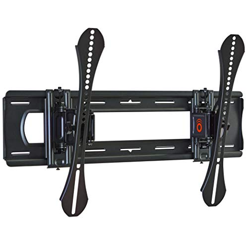 ECHOGEAR Advanced Tilt Wall Mount for TVs Up to 86' - Maximum Tilt Range On Large TVs - Great for Mounting TV Above A Fireplace - Easy Install & Hardware Included