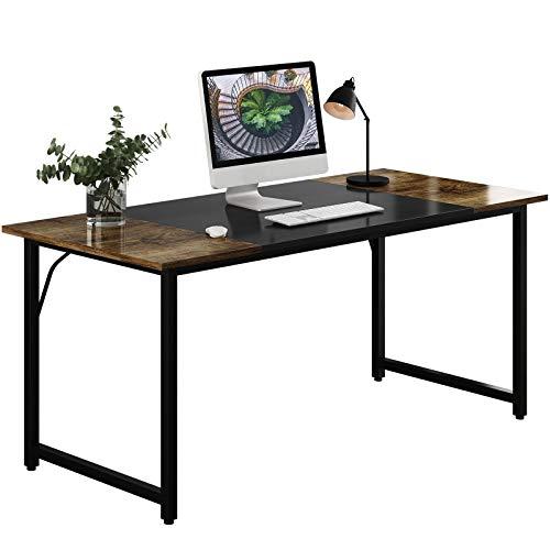 WDT Computer Home Office Writing Desk Splice Board, Black