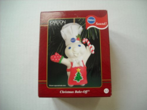Pillsbury Doughboy 'Christmas Bake-Off' Music Ornament