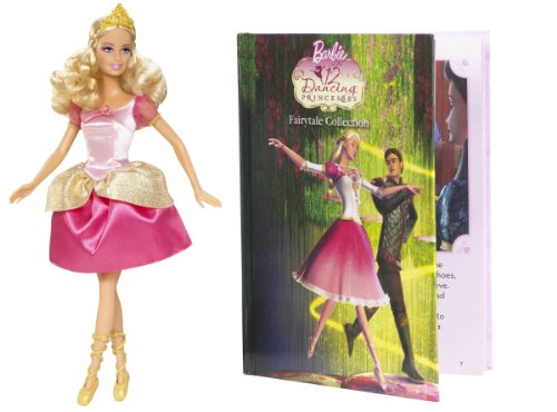Barbie 12 Dancing Princesses Genevieve Doll and Book Giftset