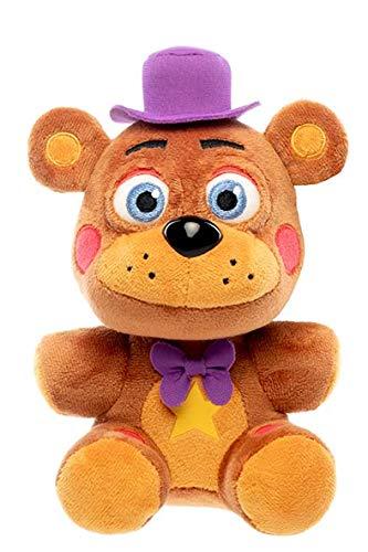 Funko Plush: Five Nights at Freddy's Pizza Simulator - Rockstar Freddy Collectible Figure, Multicolor