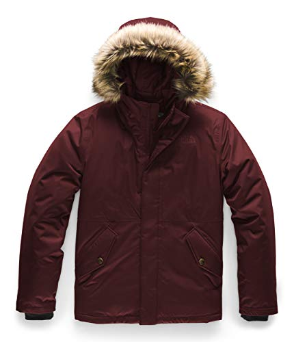 The North Face Girls' Greenland Down Parka, Deep Garnet Red, M