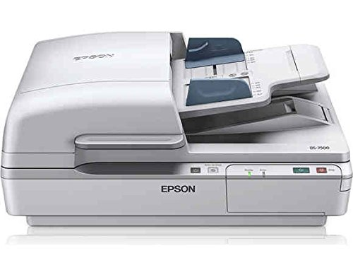 Epson DS-7500 Document Scanner: 40ppm, TWAIN & ISIS Drivers, 3-Year Warranty with Next Business Day Replacement