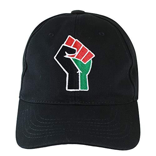 RBG Forever Resist (African American Liberation): Black Embroidered Adjustable Baseball Cap