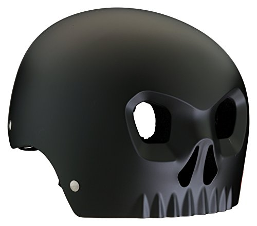 Mongoose Street Hardshell Skull Youth Bike Helmet, Black