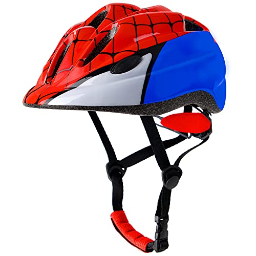 Atphfety Kids Bike Helmets,Adjustable Multi-Sport Safety Helmet with LED Light for Cycling Skate Scooter Roller