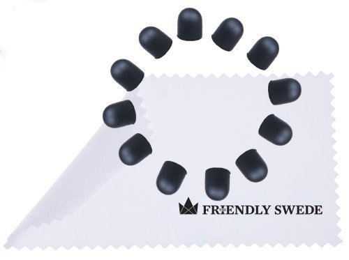 The Friendly Swede Rubber Replacement Tips. (12 Pieces)