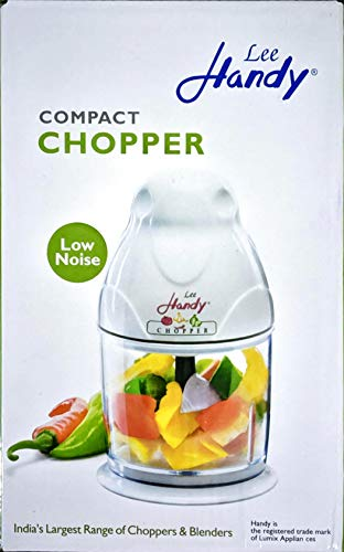 LUMIX Lee Handy Compact Blender Chopper For Your Kitchen (2 Jars) (Made In INDIA)
