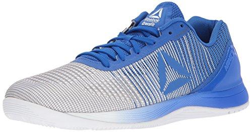 Reebok Men's CROSSFIT Nano 7.0 Cross-Trainer Shoe, Vital Blue/White, 9 M US