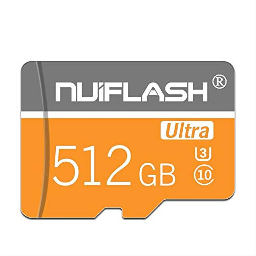 Micro SD Card 512GB Memory Card 512GB,TF Card 512GB HIgh Speed Class 10 with Free SD Card Adapter,Designed for Nintendo-Switch Android Smartphones,Tablets and Others