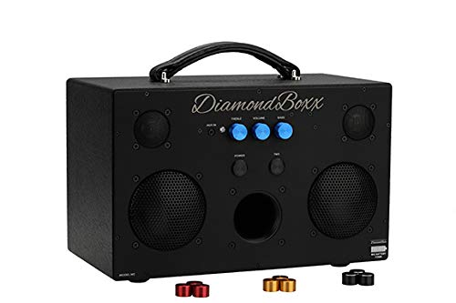 DiamondBoxx Model M3 w Big Battery - Wireless Bluetooth Speaker Powerful Loud and Clear Sound 400 Watts 40 Hours Play on Single Charge 4 amplifiers for 0 Distortion and max bass Boom All The Way up