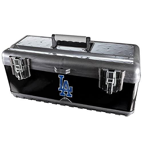 Team ProMark MLB Los Angeles Dodgers Heavy Duty Steel Toolbox