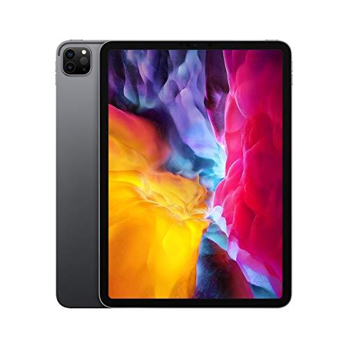 (Refurbished) Apple iPad Pro (11-inch, Wi-Fi, 128GB) - Space Gray (2nd Generation) (2020)