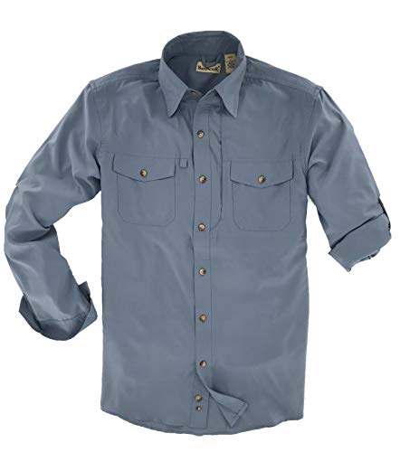 Backpacker Men's Expedition Travel Shirt Twilight Size X-Large