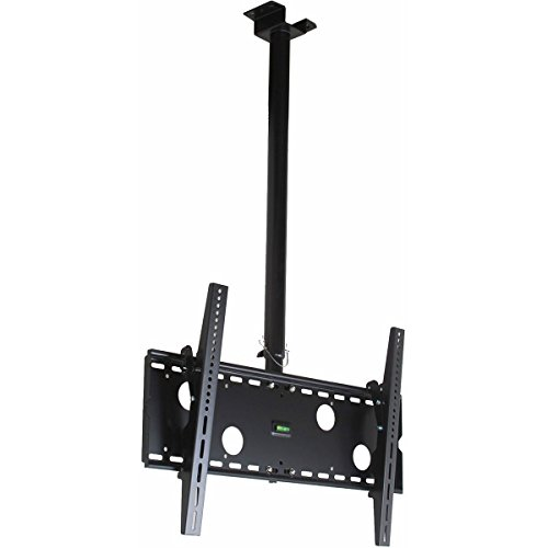 VideoSecu Plasma TV Flat Panel Ceiling Mount Monitor Drop Bracket for Samsung LN32A330 LN40A630 LN32A650 LN32A550 LN40A750 LN37A330 LN37A550 LN37A450 LN40A530 LN37A530 LCD LED TV 3KW