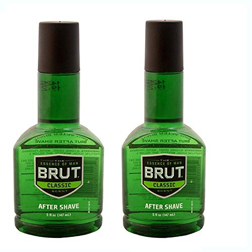 BRUT Classic After Shave Fragrance for Men, 5 Oz (Pack of 2)