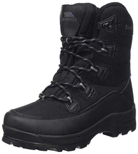Trespass Big Boys' Zotos Wellington Boots 4 UK Black (Black)