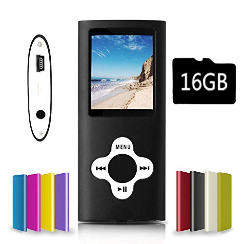 G.G.Martinsen MP3/MP4 Player with a Micro SD Card, Support Photo Viewer, Mini USB Port 1.8 LCD, Digital MP3 Player, MP4 Player, Video/Media/Music Player
