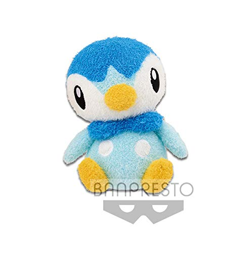 Pokemon Sun and Moon Piplup 10' Character DX Plush Toy Soft Fuzzy Doll Collection Anime Art