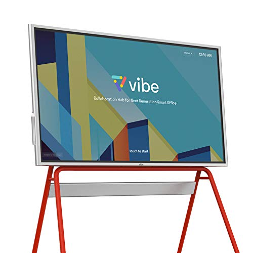 Vibe All-in-one Computer Real-time Smart Interactive Whiteboard, Video Conference Collaboration, Robust App Ecosystem, Smart Board for Classroom and Business W/ 55' 4K UHD Touch Screen